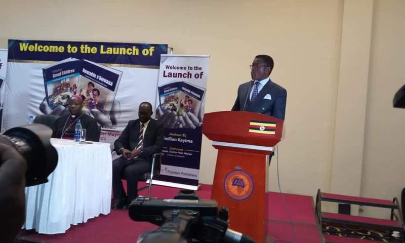 Buganda Katikiro, City Tycoons Grace SSP Kayima Book Launch