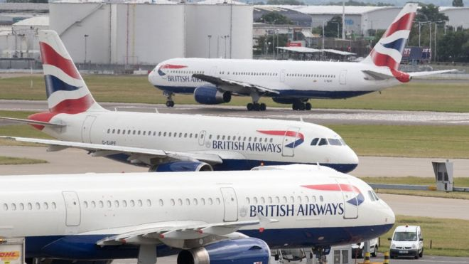 Over 1,500 British Airways Flights Canceled Over Pilots Strike