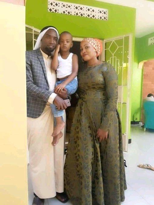 Sebunya, Habiba and their son