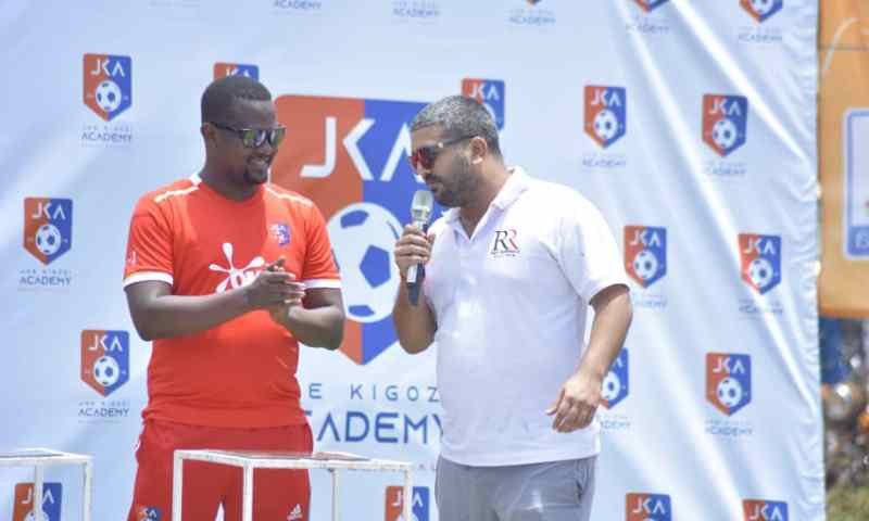 Rajiv Graces Official Launch Of Joe Kigozi Academy, Pumps Dime Into Project