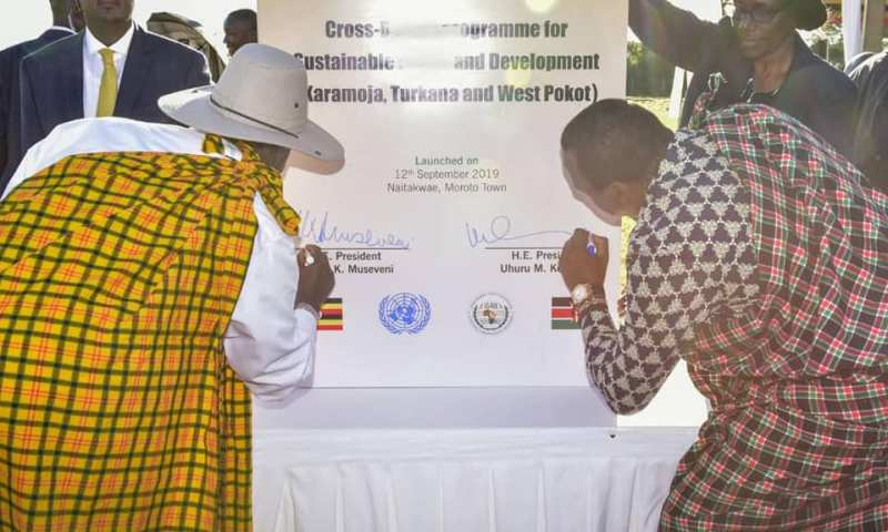 Museveni, Kenyatta Cross-Border Peace Pact To Boost Security