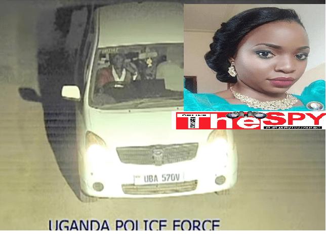 Police Release CCTV Of Nagirinya Killer Driving Her car
