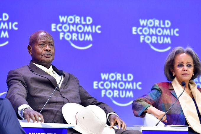 'Business Success Is Critical In Causing Sustainable Peace'-Museveni  To WEF