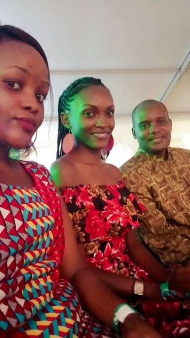 Prince Kiijanangoma with his Princess and another guest