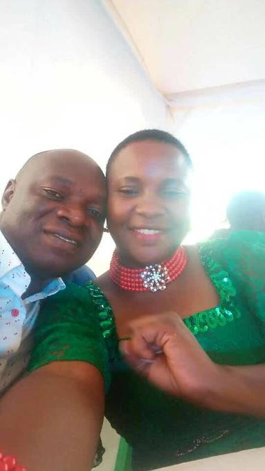 Viola Kyatereka and Martin Malinzi enjoying life