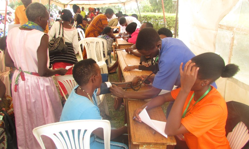 Over 10000 People Receive Free Medical Services From AMDA