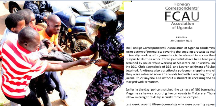 International  Press Body Condemns Police Violence Against Journalists During MAK Strikes