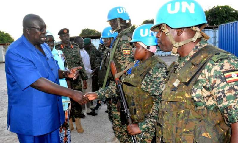 MPs Visit UPDF In Somalia Amidst Tight Security