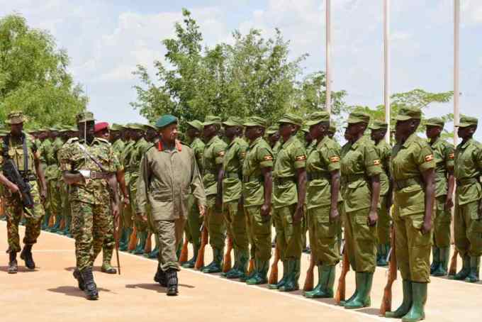 Over 5000 Police Recruits To Undergo Military Training Ahead Of 2021 Elections