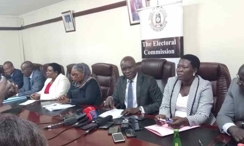 Electoral Commission Boss Byabakama Speaks Out On Hoima, Kaboong Woman MP By-election