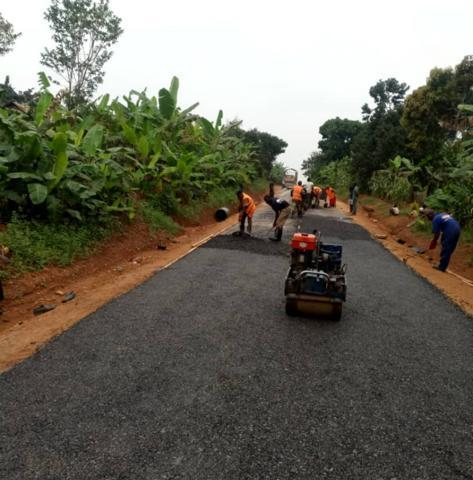 Uganda's First Ever Plastic Road Constructed In Masaka