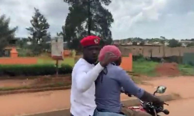 MP Bobi Wine Escapes From Police, Paralyses Kampala
