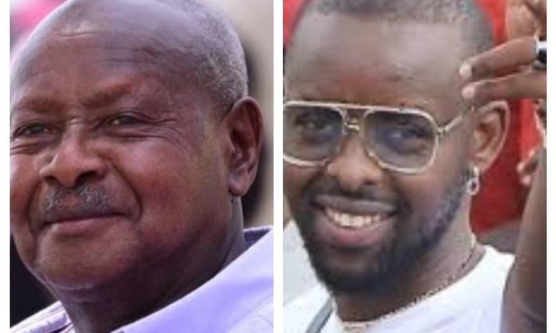 President Museveni Invites Super Star Kenzo To State House Dinner For Winning Award