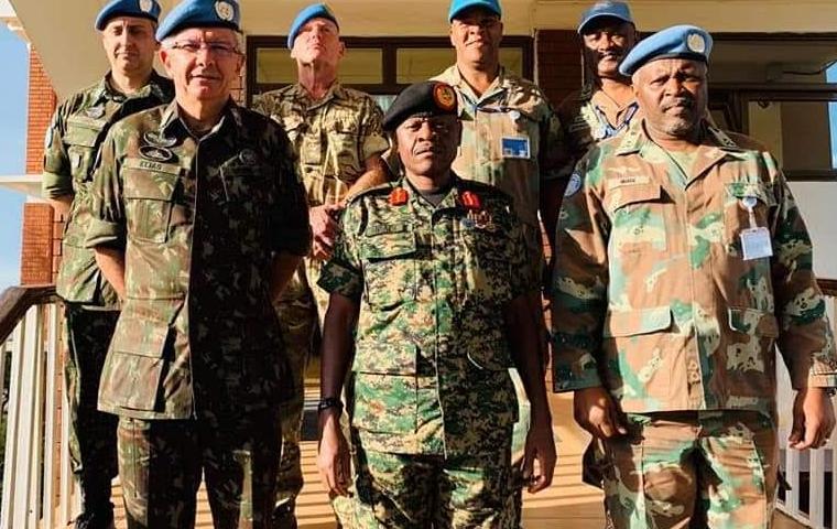 Breaking! Gen.Wilson Mbadi Is New CDF, Museveni Son Muhoozi Is Commander Land Forces!