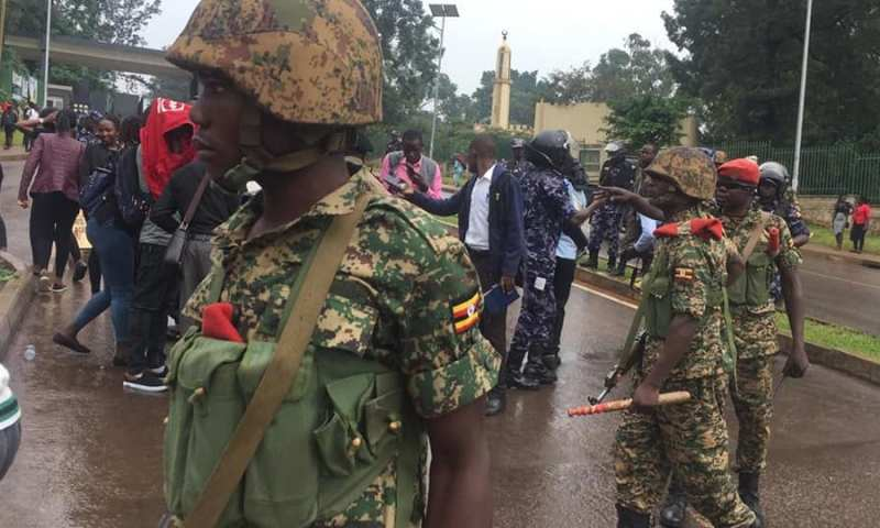 ANT Condemns Army Brutality Against Makerere University Students