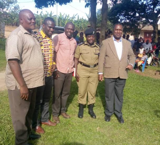 Min. Tumwesigye Hails Sheema Police As Heroes In Fight Against Crime