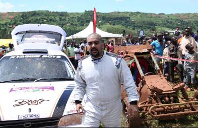 Rally Champions Rajiv, Yasser  Battle For Total Kabalega Rally 2019