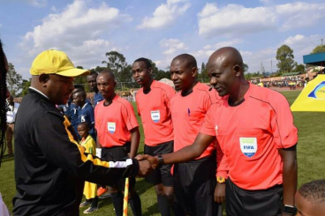 Top Referee Kiwewa  Battles Bribe Scandals