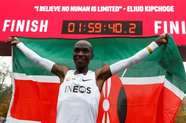 Eliud Kipchoge Breaks Two-hour Marathon Mark By 20 Seconds