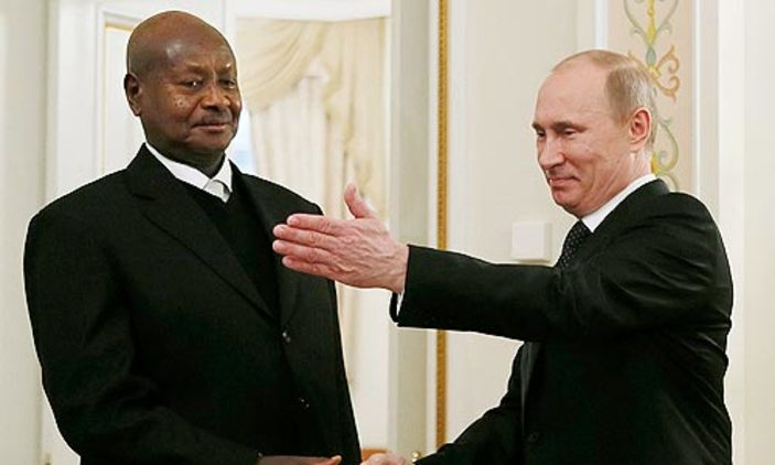 Museveni, Putin To Meet  At Russia-Africa Summit