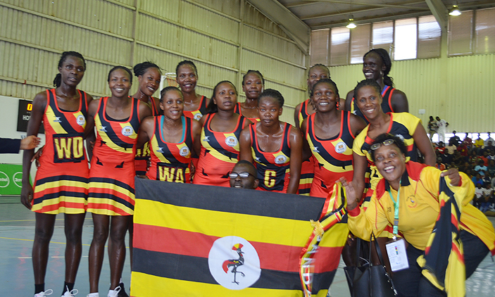 She Cranes On Top Notch; Crash Zambia In Africa Netball Cup