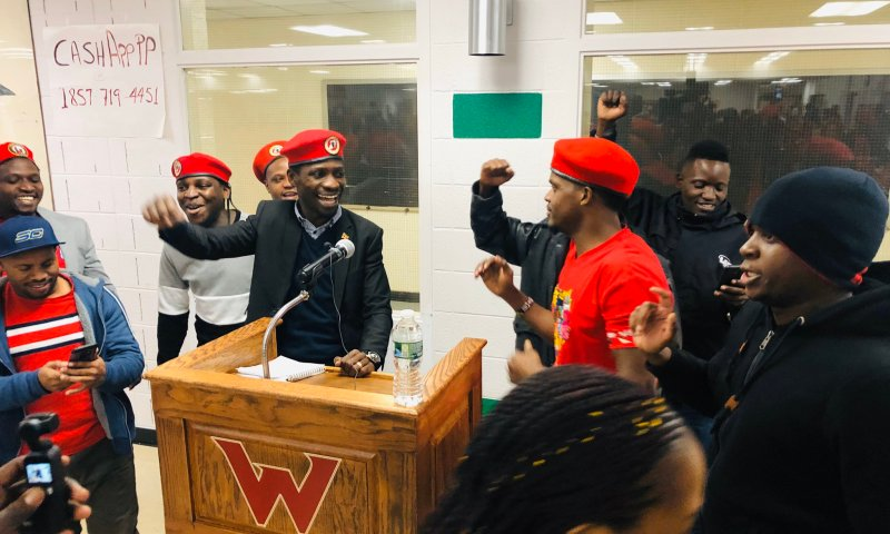 Bobi  Wine Kicks Off Presidential Campaigns In America, Bags Millions From Ugandans In Diaspora