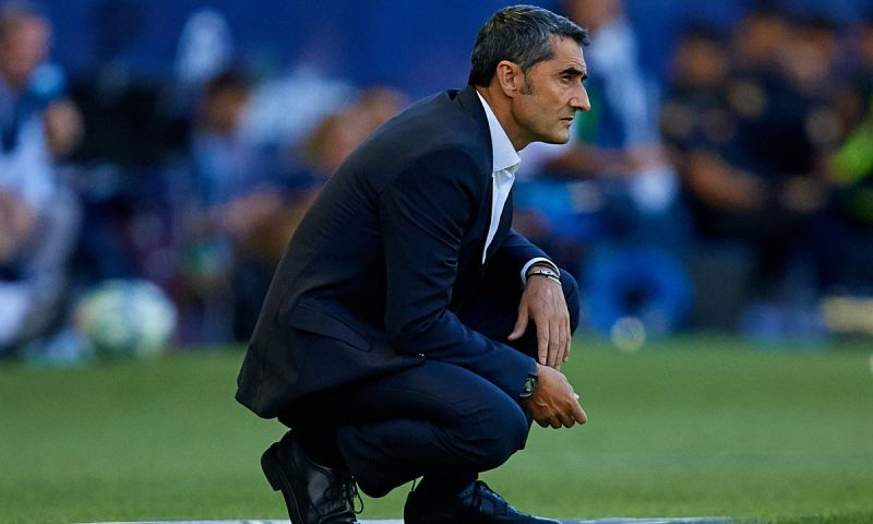 Barcelona Coach Valverde's Days Numbered Over Poor Performance