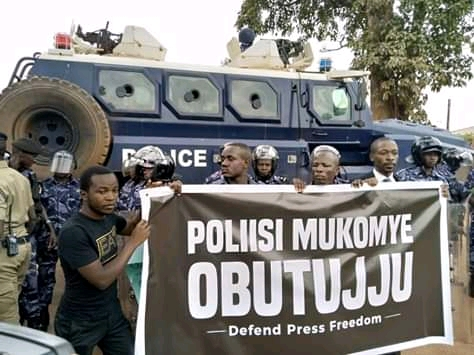 Journalists Petition IGP Ochola Over Police Violence