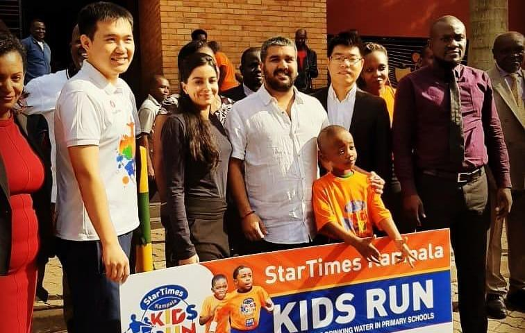 Ruparelia Foundation Pumps Dime In Kampala Kids Run 2019