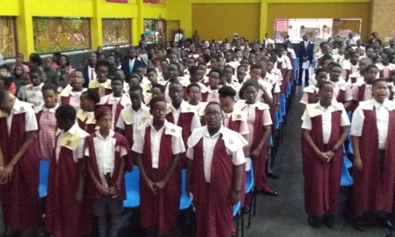 Dr Sudhir Graces  Kampala Parents School Graduation Ceremony