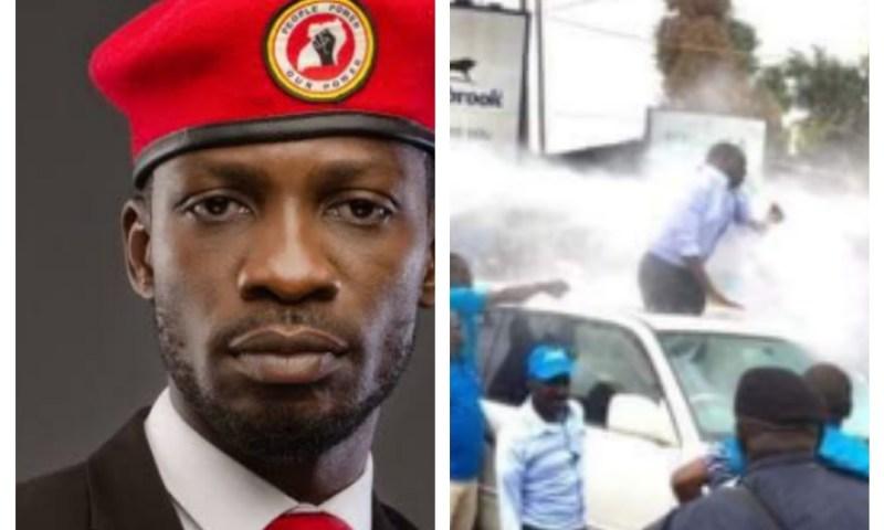 Bobi  Wine Condemns Police Brutality Meted On FDC's Kizza Besigye