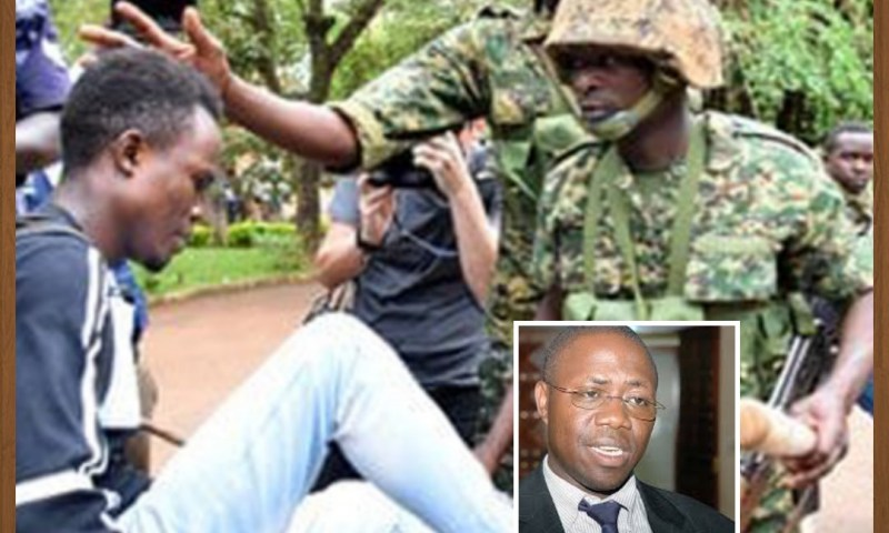 'UPDF  Didn't Participate In Brutality At MAK, Army  Only Helped Police Do Their Work'- Defence Min.Mwesige