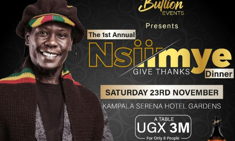 Reggae Star Maddox To Headline Nsiimye Thanksgiving Dinner