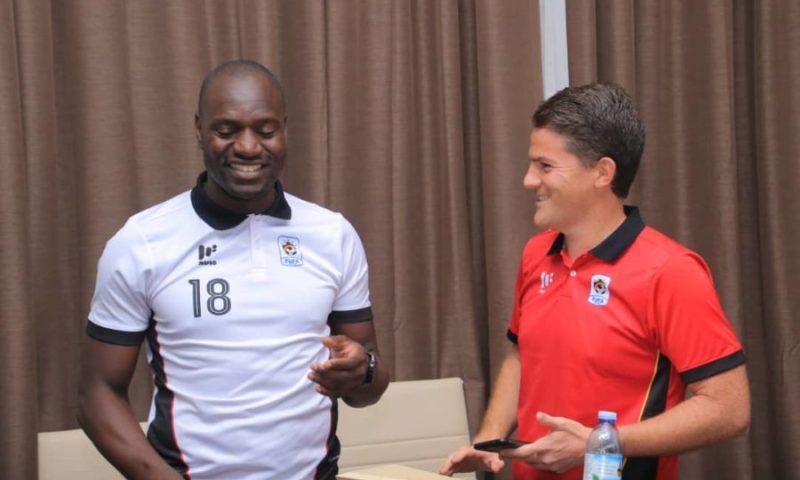 Mckinstry, Onyango Sweat   Plasma Over Malawi Game, Urge Fans To Support  Cranes