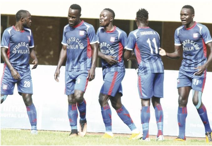 SC Villa Hammers Onduparaka 3-1 At Lugogo Stadium