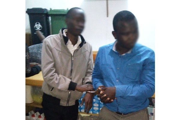 Medic Arrested Over Theft Of HIV Testing Kits