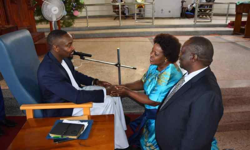 Kyabazinga Gabula Graces X-mas Prayers At St Mark's Church Kamuli