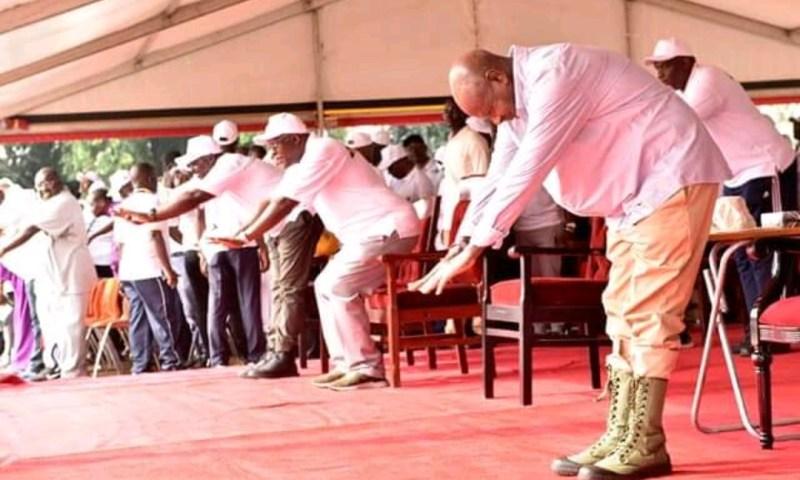 President Museveni's Fitness Drills  Break Internet