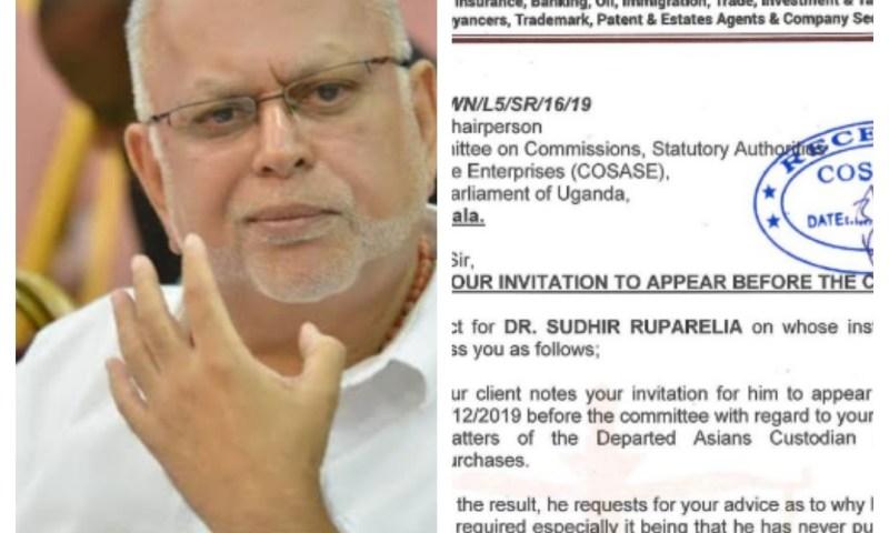 COSASE Sub-Committee's Plot To Humiliate Tycoon Sudhir Leaks