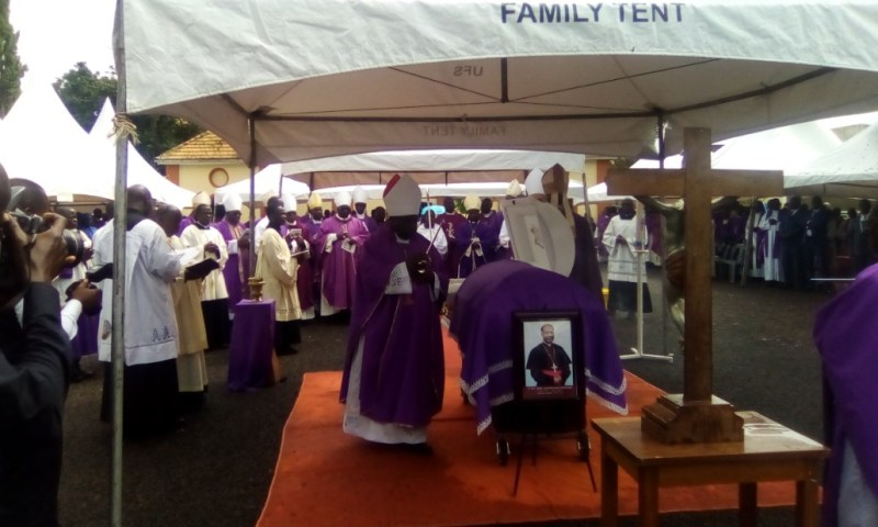 Bishop Ssentongo Finally  Laid Rest