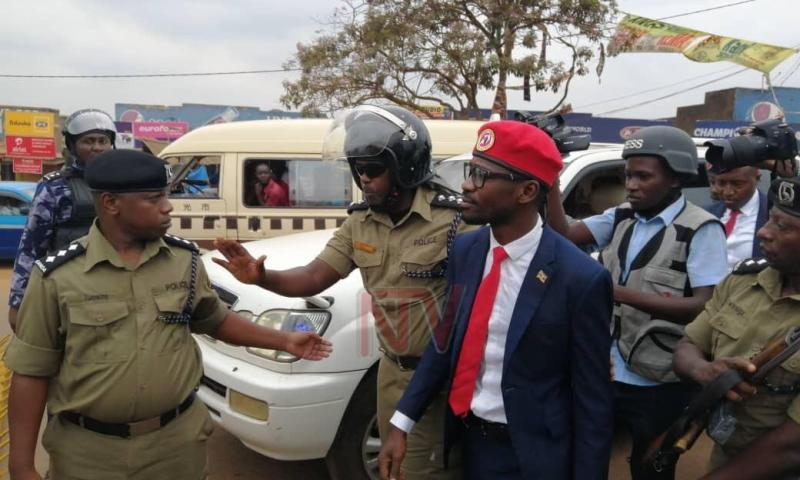 Teargas, Bullets Rattle Kyadondo As Police Block Bobi Wine's Consultation Meeting