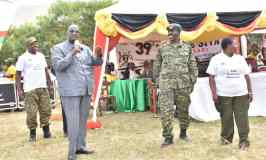 Gen. Saleh Urges UPDF To Commit To Higher Goals As Tarehe Sita Activities Kick Off