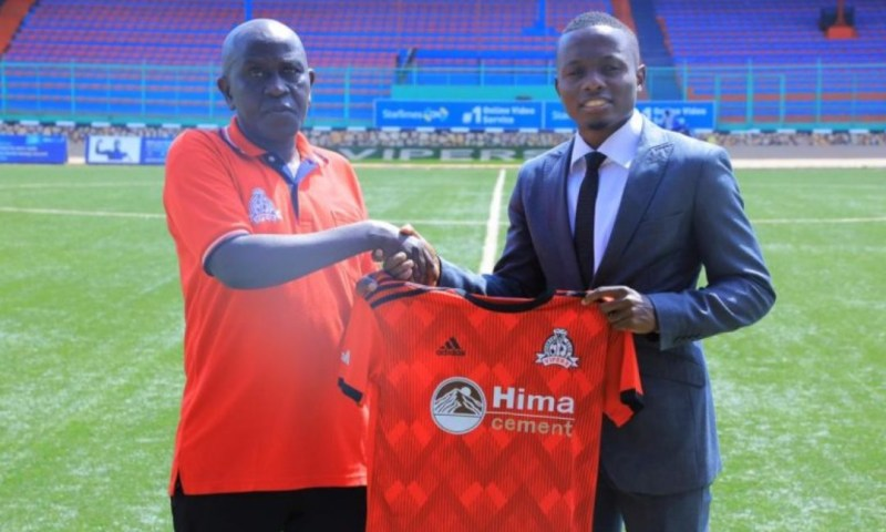 Vipers Sports Club Officially Unveils Soccer Ace Mucureezi