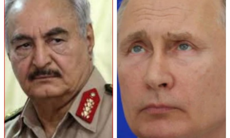 'We Shall Not Ceasefire'-Libyan Field Marshal Haftar Roars At Russia, Turkey