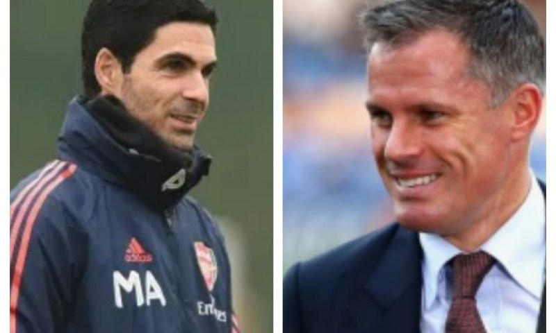 'I Never Expected Arteta To Be Arsenal Manager'- Carragher