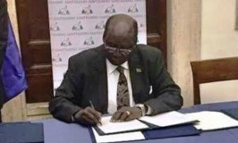 South Sudan Gov't, Rebel Groups Sign Declaration Of Peace