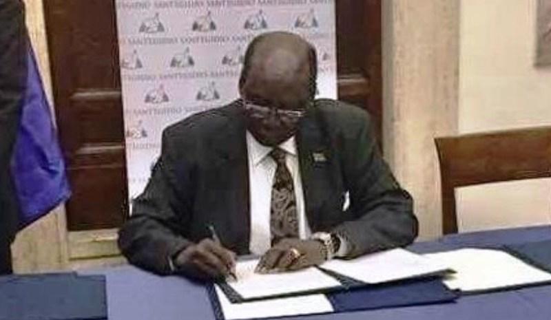 South Sudan Gov't, Rebel Groups Sign Declaration Of Peace