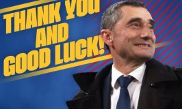 Ernesto Valverde Sacked As Barcelona FC  Coach