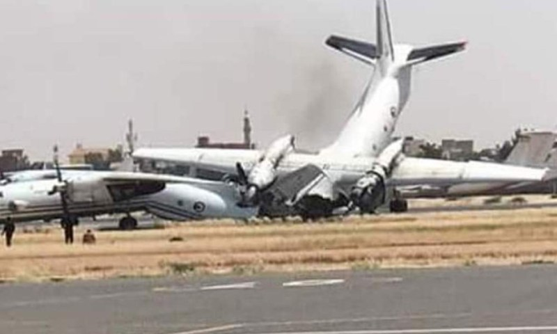 Developing Story! Sudan's Khartoum Airport Closed As Rival Security Forces Fight Over Pension!