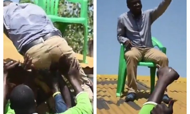 Minister Ogwang reveals How He Climbed 'Rooftop Throne'